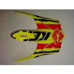 BMX Rocket Helmet Peak 2015 Neon Yellow