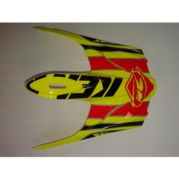 BMX Rocket Helmet Peak 2015 Neon Yellow