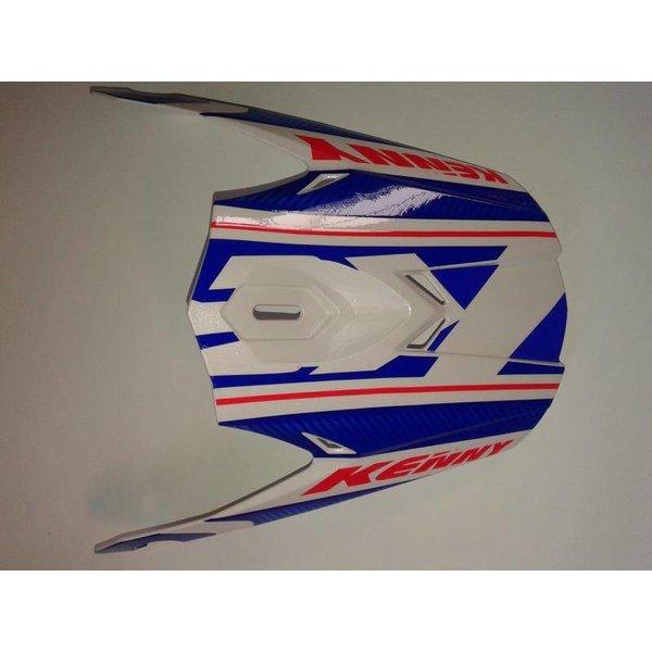 Performance Helmet Peak 2014 Blue/Red