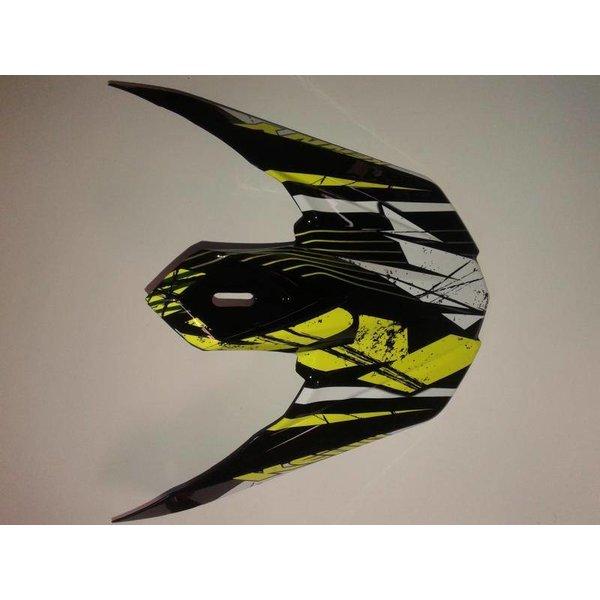 Track Helmet Peak 2014 Adult Neon Yellow