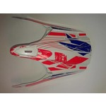 BMX Rocket Helmet Peak 2014 Blue/Red
