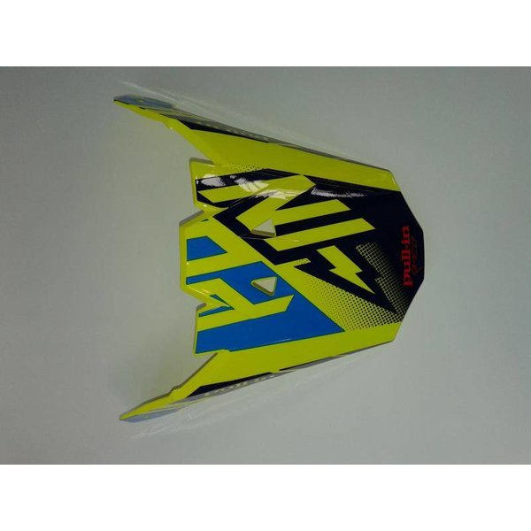 helmet peak adult neon yellow/ cyan