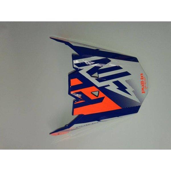 Helmet Peak Adult Blue/Neon Orange
