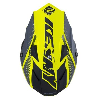 Performance Helmet Peak Kid 2018 Matt Neon Yellow
