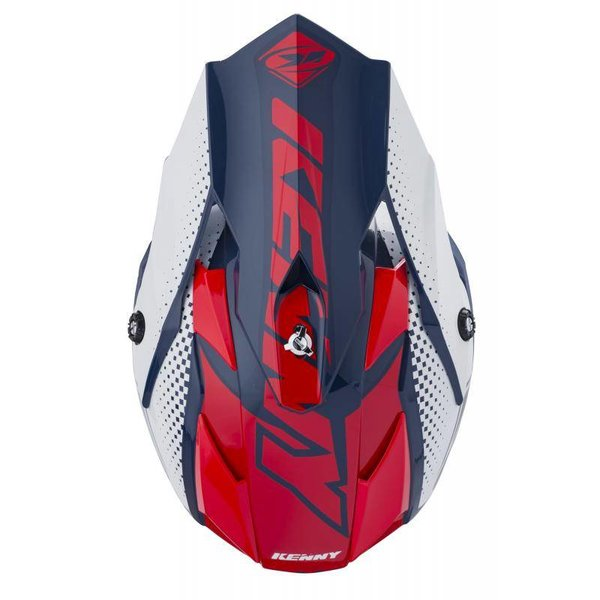Performance helmet peak KID 2018 NAVY RED