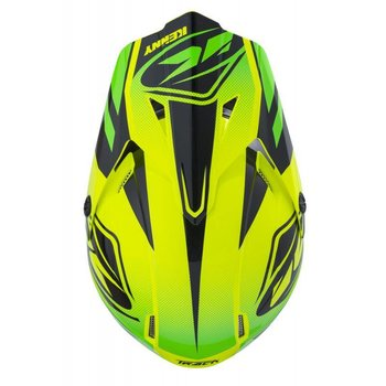 Track Helmet Peak Adult 2018 Lime