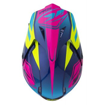Track Helmet Peak Adult 2018 Blue Pink