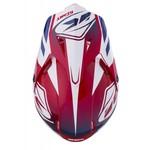 Track helmet peak adult 2018 RED