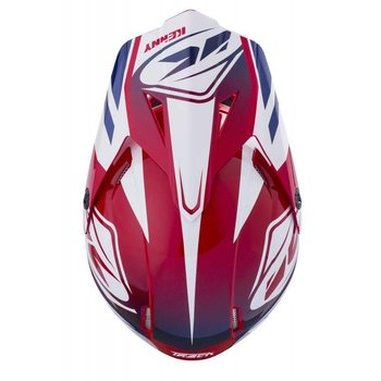 Track Helmet Peak Adult 2018 Red