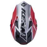 Performance helmet peak adult 2018 SILVER RED
