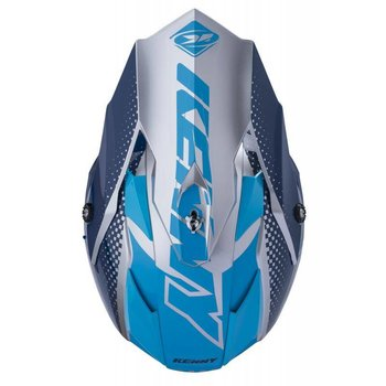 Performance Helmet Peak Adult 2018 Silver Blue