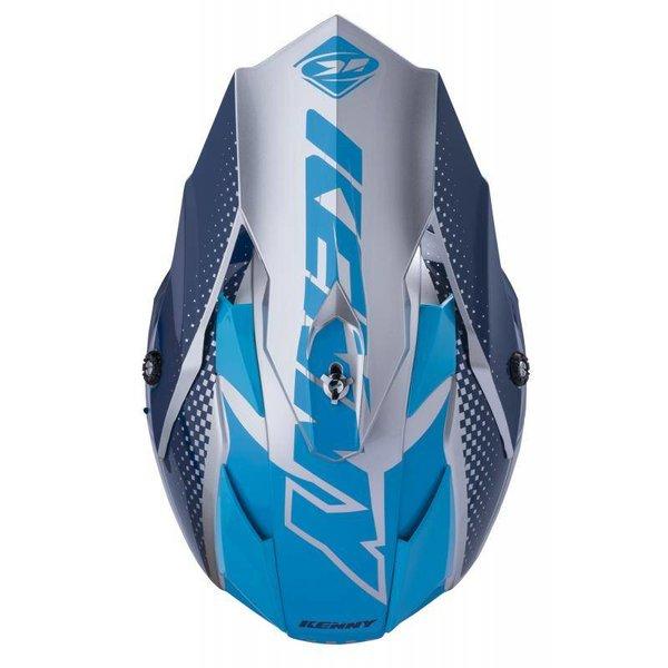 Performance Helmet Peak Adult 2018 Silver Blue