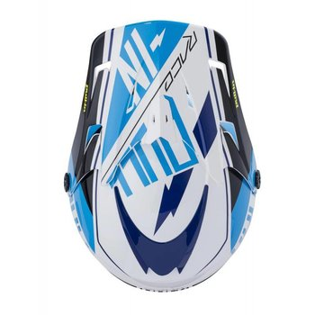 Helmet Kids Peak 18 Cyan/Yellow