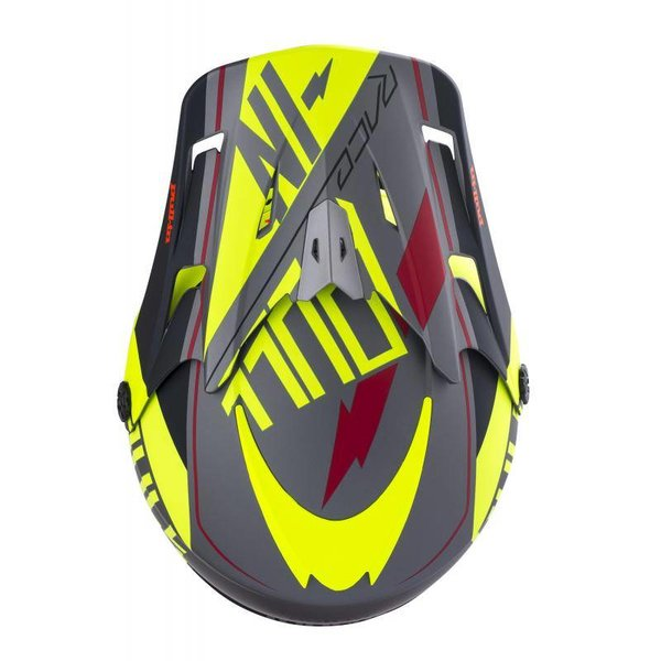 Helmet Kids Peak 18 Neon Yellow