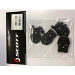MX Boot Buckle Base Set 250/350/450 Black