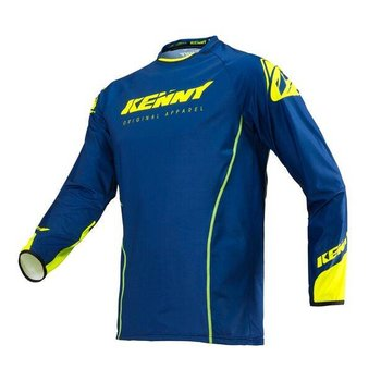 Titanium Jersey Adult Navy Neon Yellow