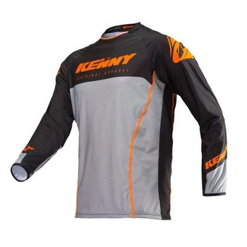 Titanium Jersey Adult Orange Grey