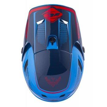 BMX Scrub Helmet Peak 2018 Blue/Red