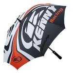 Umbrella Black/White/Orange