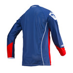 Titanium Jersey Adult Red Navy