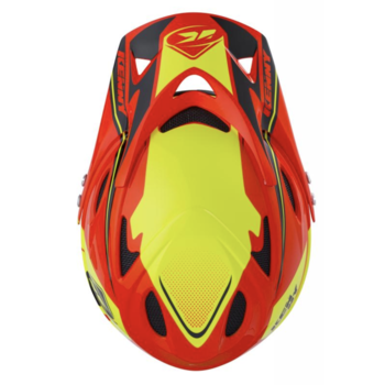 Downhill Helmet Peak 2018 Orange