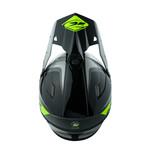 Adult Track Helmet 2020 Focus Grey Neon Yellow