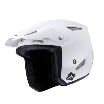 Solid Trial Up Helmet White 2022
