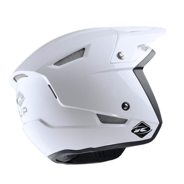 Solid Trial Up Helmet White 2021