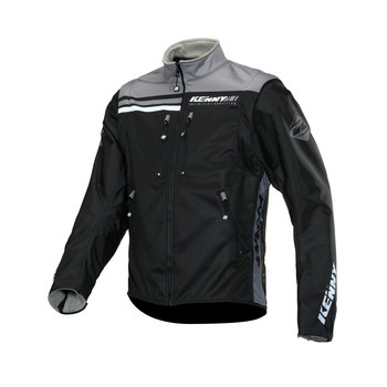Softshell Enduro Jacket 2020 Black / Grey Size XXL