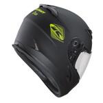 Targa Helmet Kids Matt Black Neon Yellow 2022