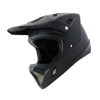 BMX Decade Helmet Graphic Matt Solid Black 2021