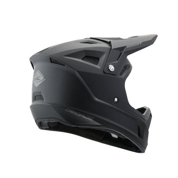 BMX Decade Helmet Graphic Matt Solid Black 2021