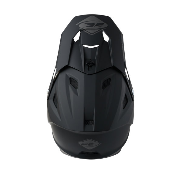 BMX Decade Helmet Graphic Matt Solid Black 2022