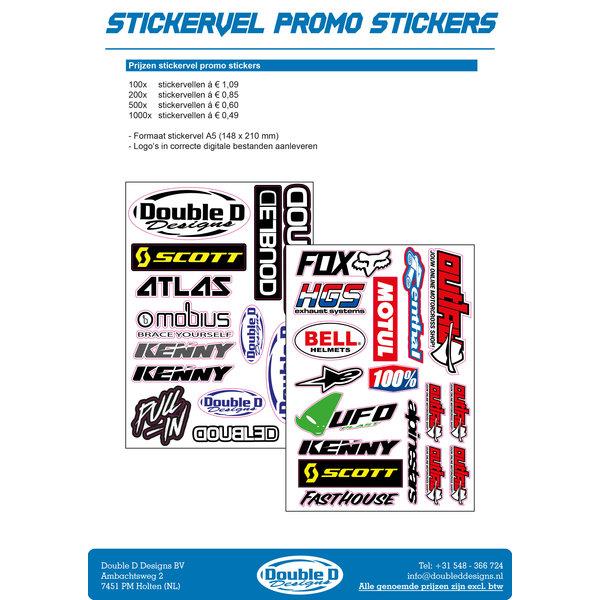 Stickervel Promo stickers