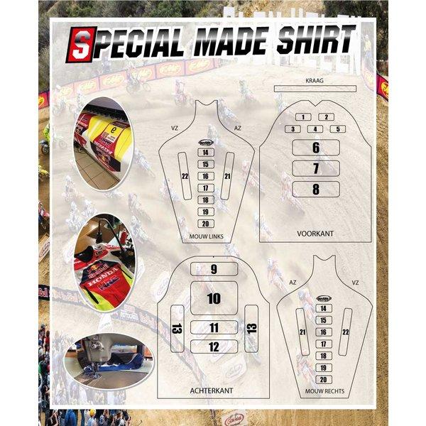 MX Shirt Special Made (Geheel Naar Eigen Wens)