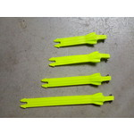 Track strap set (4) neon Yellow