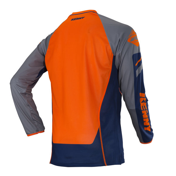 Titanium Jersey Adult Navy/Orange