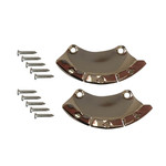 Titanium/Track Boot Iron Protection (2X)