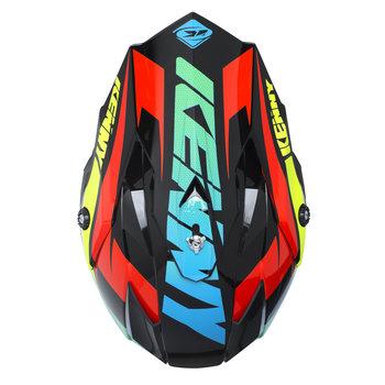Performance Helmet Peak Adult 2017 Black/Neon Yellow/Orange