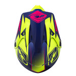 Track helmet peak adult 2017 navy/pink/lime