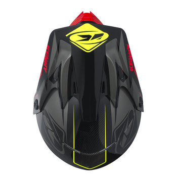 Track Helmet Peak Adult 2017 Black/Grey/Red