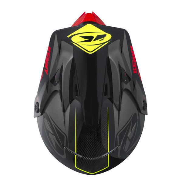 Track Helmet Peak Adult 2017 Black/Grey/Red