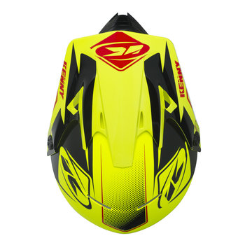 Track Helmet Peak Adult 2017 Neon Yellow