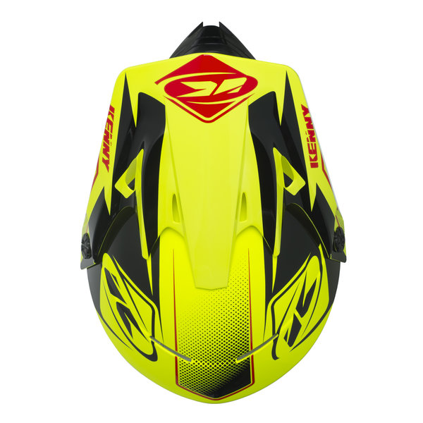Track helmet peak adult 2017 NEON YELLOW