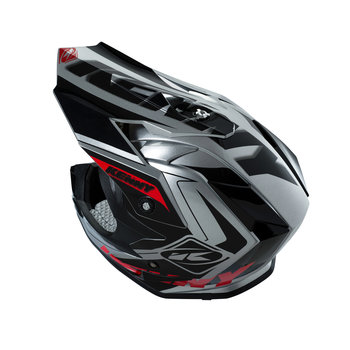 Performance Helmet Peak Adult Grey/Black/Red