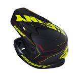 Track Helmet Peak Adult Matte Black/Neon Yellow
