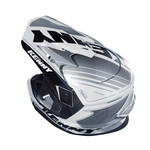 Track Helmet Peak Adult Black/White/Grey