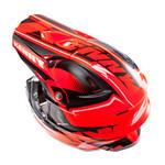 Performance helmet peak 2014 NEON ORANGE