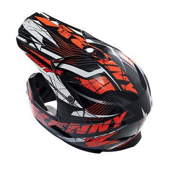 BMX Rocket Helmet Peak 2014 Neon Orange