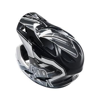 BMX Down Hill Helmet Peak 2014 Black/Grey